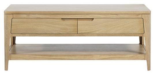 Mark Webster Ava Oak Coffee Table - 2 Drawer