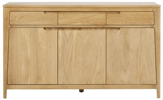 Mark Webster Ava Oak Sideboard - Large 3 Door 3 Drawer