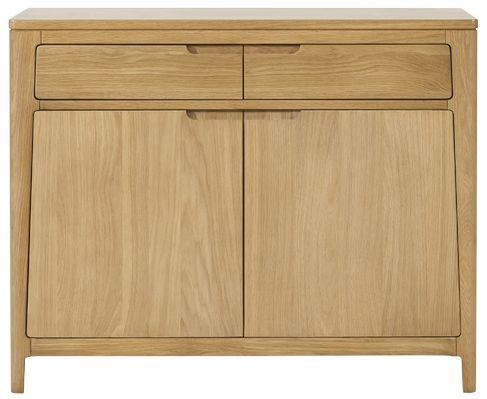 Mark Webster Ava Oak Sideboard - Small 2 Door 2 Drawer