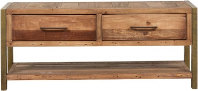 Mark Webster Barclay Pine Coffee Table with 2 Drawer