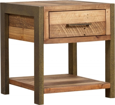 Mark Webster Barclay Pine Lamp Table with Drawer