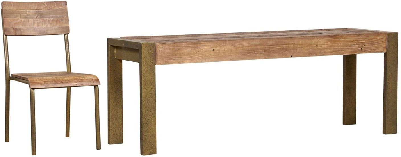 Mark Webster Barclay Pine Dining Set - Small Fixed Top with 4 Wooden Seat Chairs