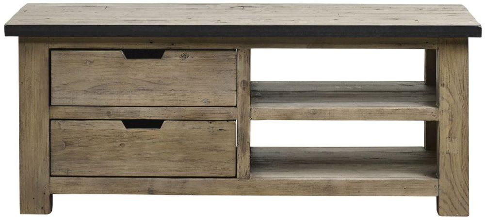 Mark Webster Barnyard Reclaimed Wood 4 Drawer Storage Coffee Table