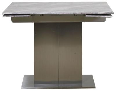 Mark Webster Bergamo Marble Top Square Extending Dining Table - 100cm-148cm