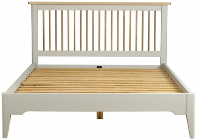 Mark Webster Bordeaux Bed - Oak and Grey