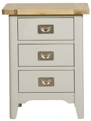 Mark Webster Bordeaux Painted Nightstand - 3 Drawer