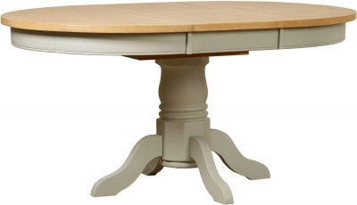 Mark Webster Bordeaux Painted Pedestal Dining Table - Round Extending