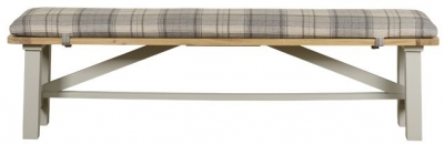 Mark Webster Bordeaux Painted Trestle Bench