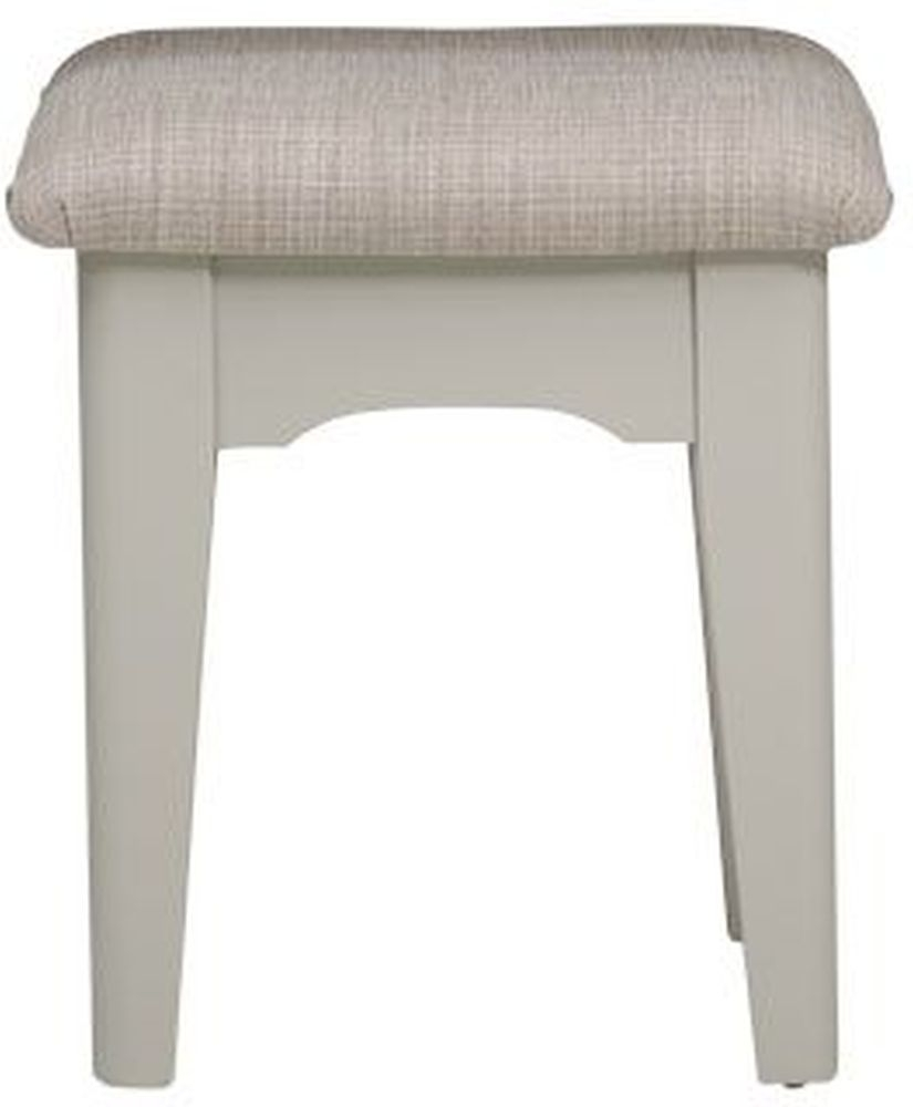 Mark Webster Bordeaux Grey Bedroom Stool