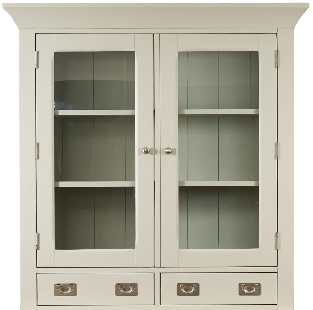Mark Webster Bordeaux Painted Glazed Hutch - Small 2 Door