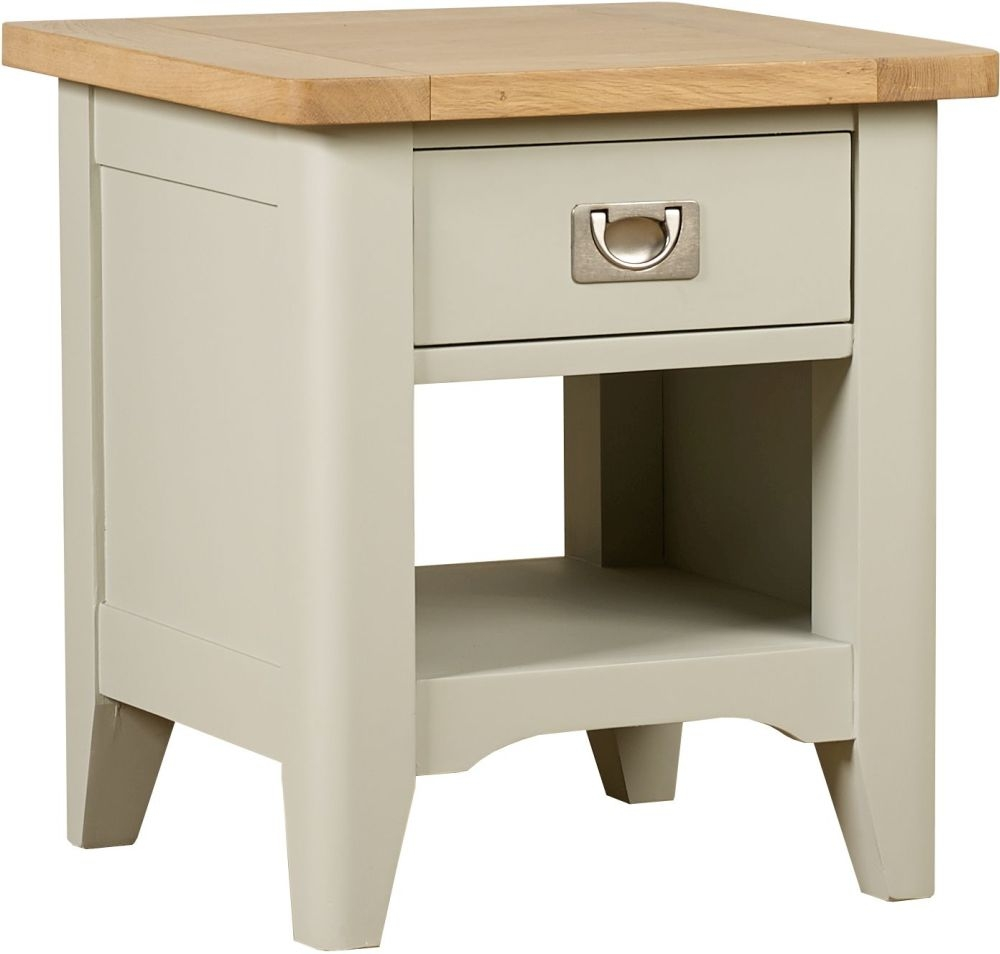 Mark Webster Bordeaux Painted Lamp Table with Drawer