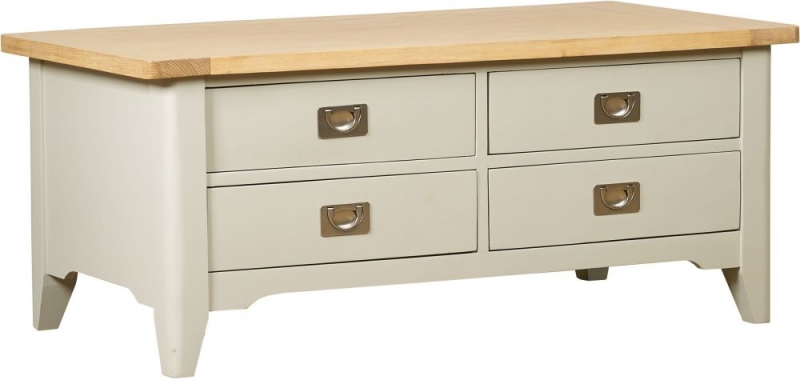 Mark Webster Bordeaux Coffee Table - Oak and Grey