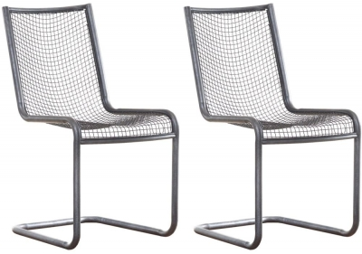 Mark Webster Brunel Mesh Dining Chair (Pair)