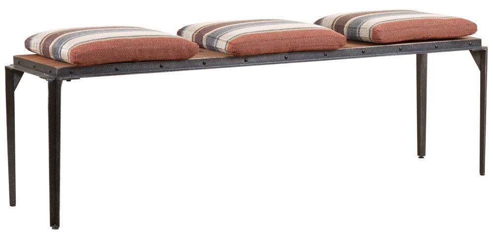 Mark Webster Brunel Metal Frame Bench