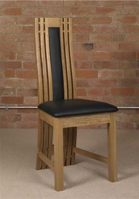 Mark Webster Canterbury Oak Dining Chair (Pair)