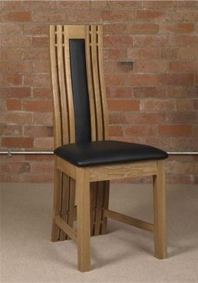 Mark Webster Canterbury Oak Dining Chair (Pair)