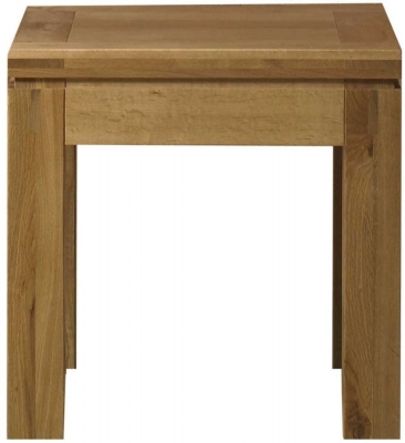 Mark Webster Canterbury Oak Lamp Table