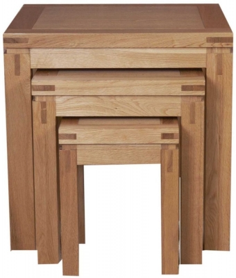 Mark Webster Canterbury Oak Nest of Table