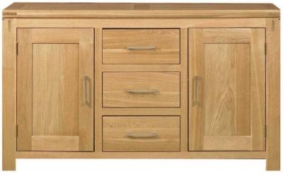 Mark Webster Canterbury Oak Sideboard - 2 Door 3 Drawer