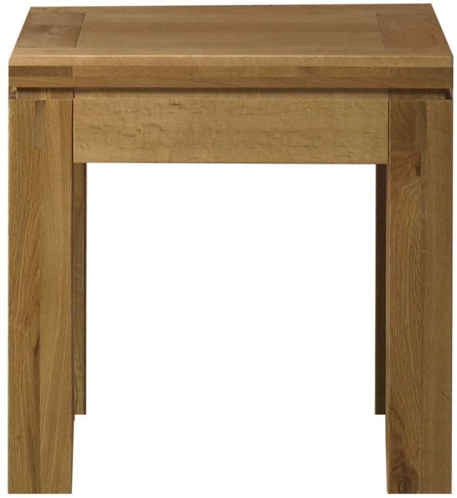 Mark Webster Canterbury Oak Lamp Table