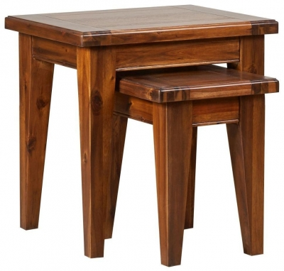 Mark Webster Chaucer Acacia Nest of 2 Tables