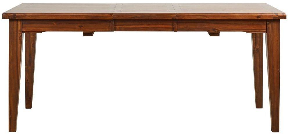 Mark Webster Chaucer Acacia Rectangular Extending Dining Table - 140cm-180cm