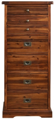 Mark Webster Chaucer Chest of Drawer - 6 Drawer Tall