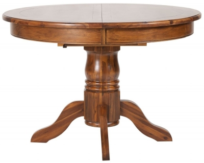 Mark Webster Chaucer Dining Table - Round Extending