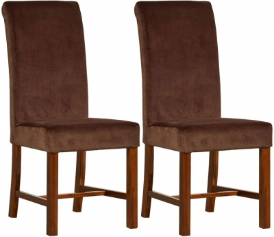 Mark Webster Chaucer Upholstered Dining Chair (Pair)