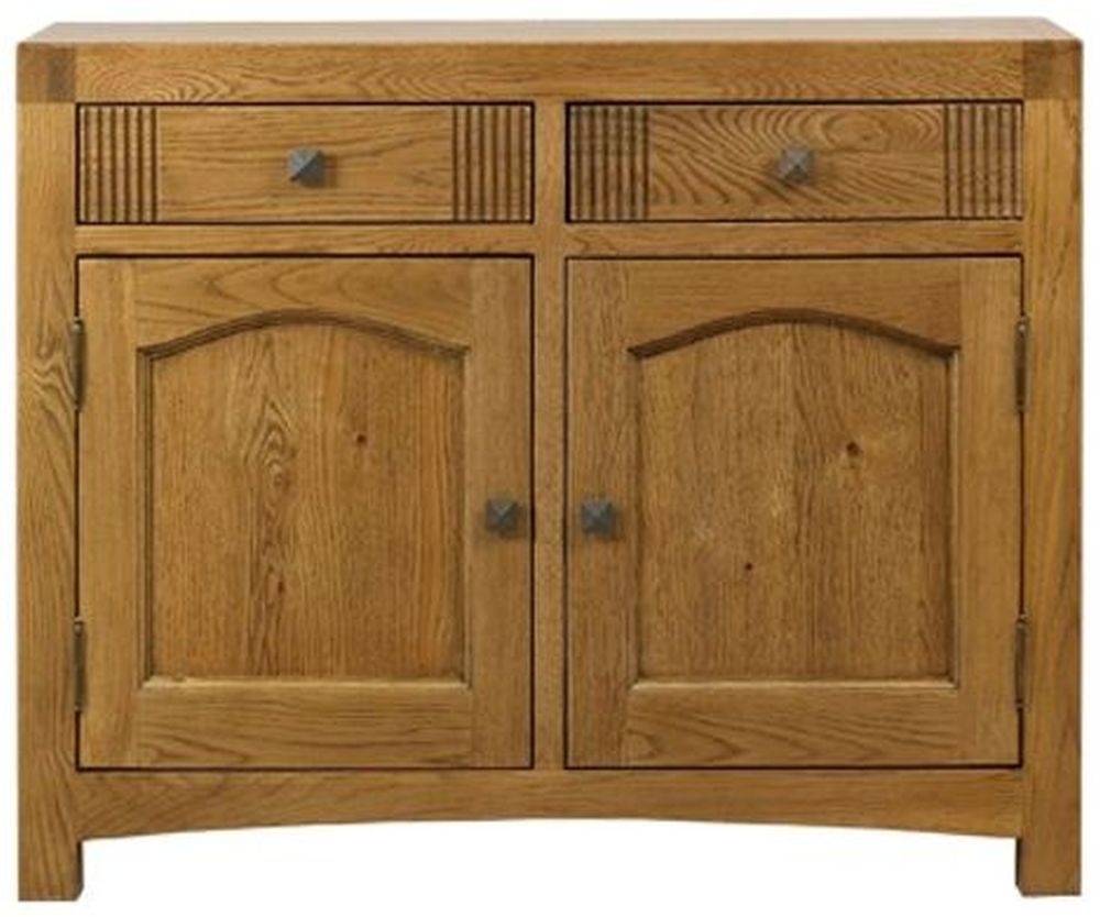 Clearance Mark Webster Linosa Oak Sideboard - Small - G589