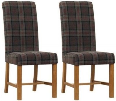 Mark webster Moss Fabric Dining Chair - FR18932 (Pair)
