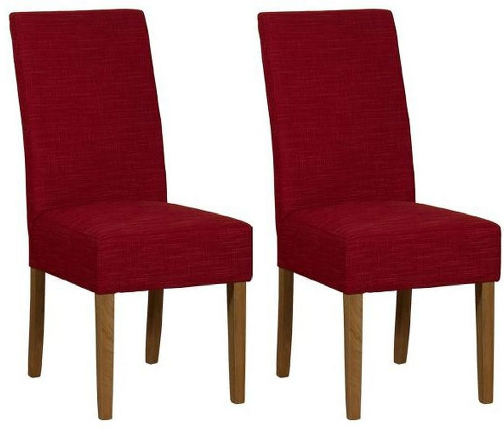 Mark Webster Parason Postbox Fabric Dining Chair - FR18606 (Pair)