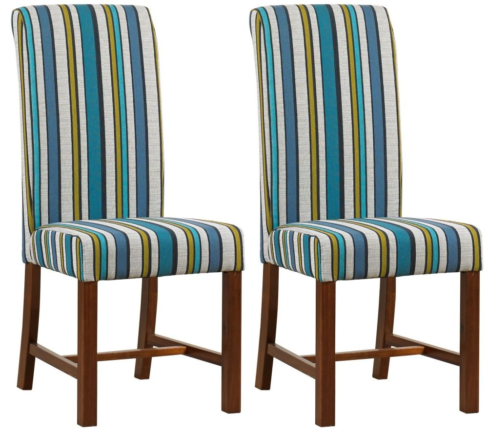 Fabric Dining Chairs Teal buy mark webster teal fabric dining chair - fr18710 (pair) online