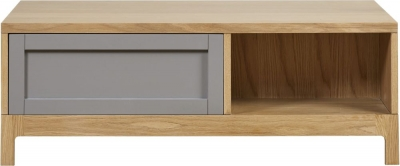 Mark Webster Fusion Oak Coffee Table with Drawer