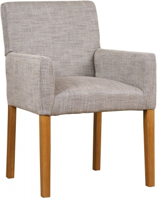 Mark Webster Fusion Oak Freemont Upholstered Armchair