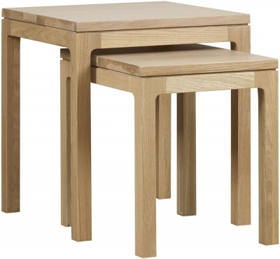 Mark Webster Fusion Oak Nest of Tables