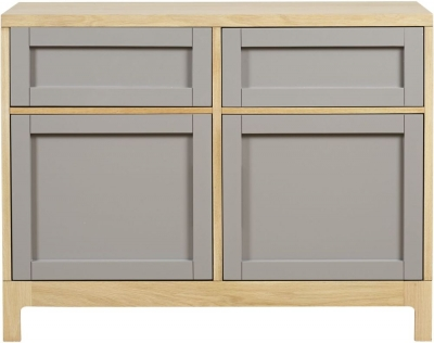 Mark Webster Fusion Oak Small Sideboard - 2 Door 2 Drawer