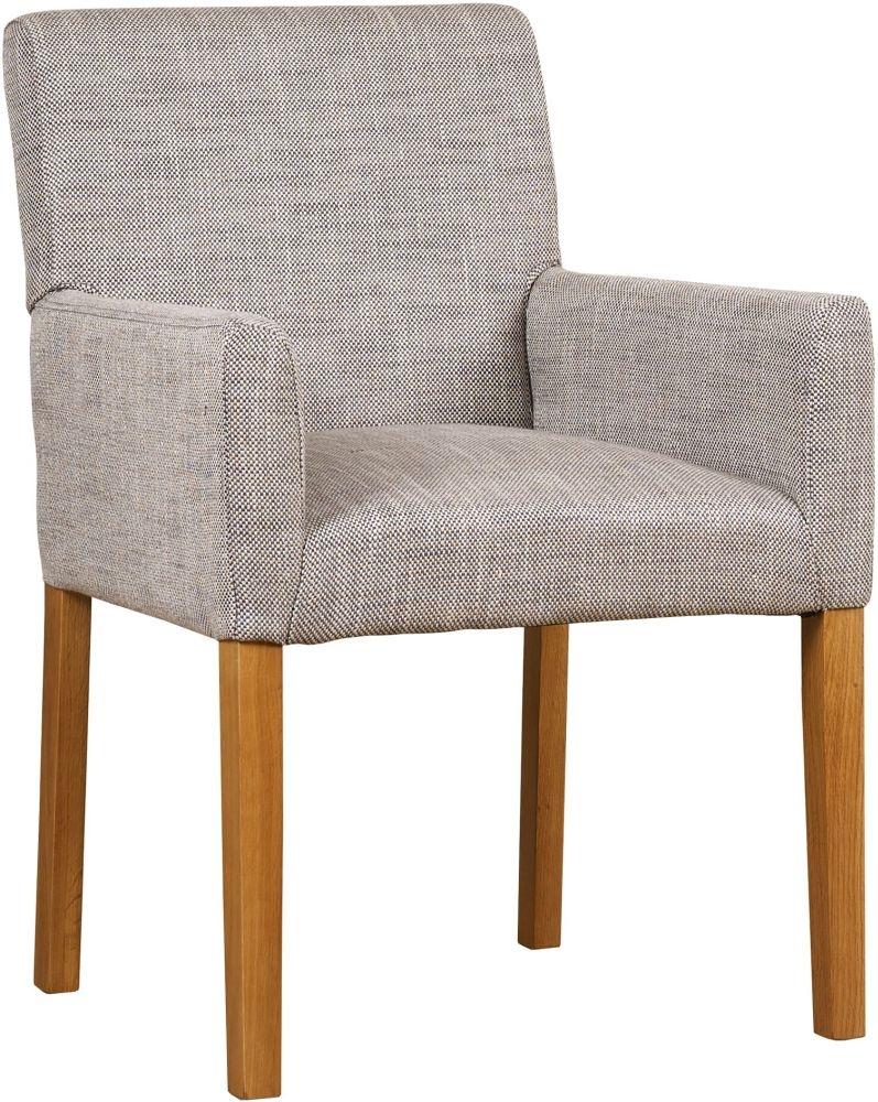 Mark Webster Fusion Oak Freemont Upholstered Armchair