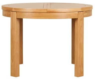 Mark Webster Geo Oak Dining Table - Round Extending