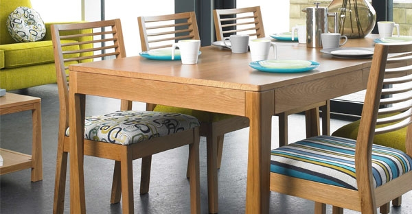 Mark Webster Geo Oak Dining