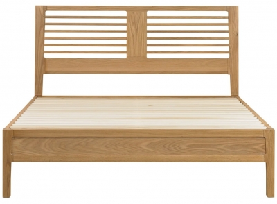 Mark Webster Geo Oak Bedstead