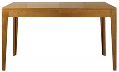 Mark Webster Geo Oak Dining Table - Small Extending