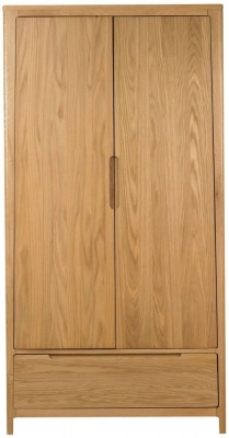 Mark Webster Geo Oak Wardrobe - Gents