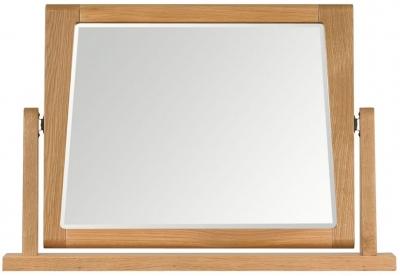 Mark webster Geo Oak Pedestal Mirror