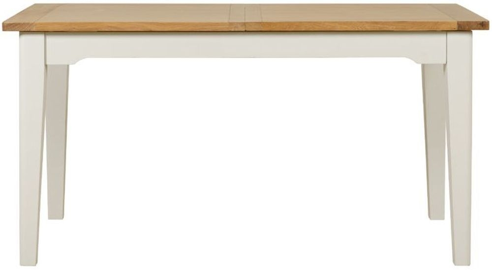 Mark Webster Hemmingway Extending Dining Table - Oak and Off White