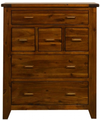 Mark Webster Kember Acacia Chest of Drawer - 6 Drawer