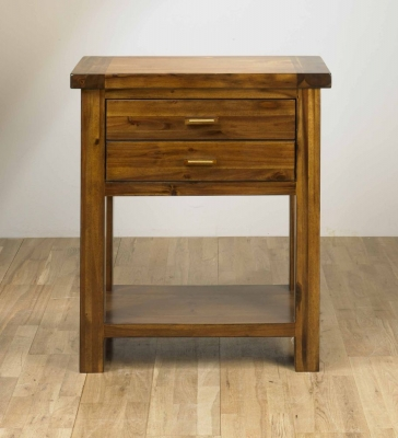 Mark Webster Kember Acacia Console Tables