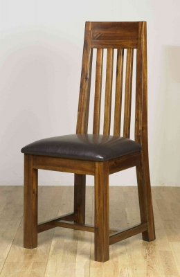 Mark Webster Kember Acacia Dining Chair (Pair)