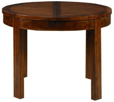 Mark Webster Kember Acacia Dining Table - Round Extending
