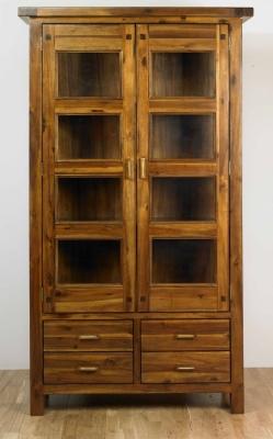 Mark Webster Kember Acacia Glazed Display Cabinet